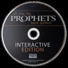 DVD supplémentaire pour Tout ce qu'ont dit les prophètes (en anglais)