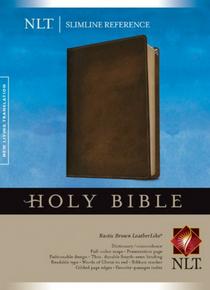 NLT Slimline Reference Bible (en anglais seulement)