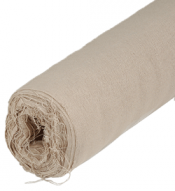 Linen Rough Canvas Roll 2.10m x 10m - (470gsm) Acrylic Primed