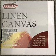 "Loxley Linen Stretched Canvas Masters - 16"" x 12"" (Pack of 5)"