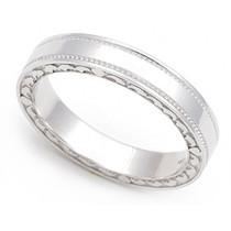 Heart Edge Wedding Ring 3.5mm
