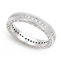 Pave' set Diamond Eternity Wedding Ring (2/5 ct.)
