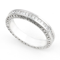 Channel set Diamond Eternity Ring (3/4 ct.)
