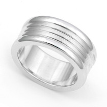 Line Design Wedding Ring 8.5mm
