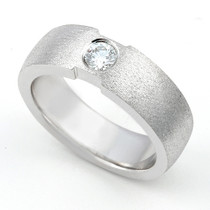 Bezel Set Diamond Single Stone Ring (1/5 ct.)
