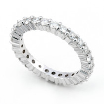 Shared Prong set Diamond Eternity Ring (1 1/4 ct.)