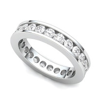 Channel Set Diamond Eternity Ring (1 1/2 ct.)