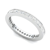 Channel Set Princess Diamond Eternity Ring (1 1/2 ct.)