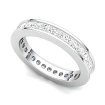 Channel Set Princess Diamond Eternity Ring (2 ct.)