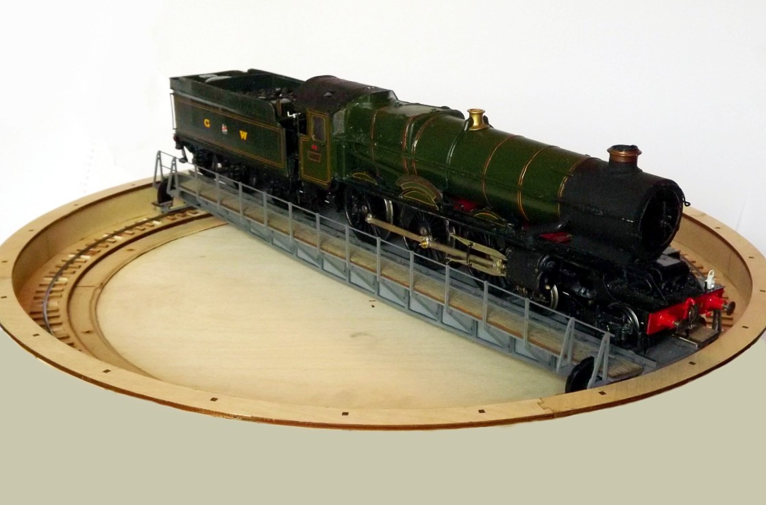 7mm scale 65ft turntable