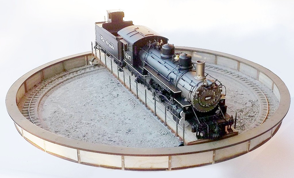 O scale (1:48) 65ft turntable - Kitwood Hill Models Store