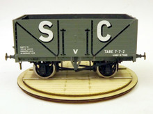 Motorised O scale wagon turntable with 1923 RCH pattern wagon.