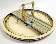 HO/HOn3 65ft gallows turntable kit