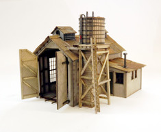 On30 Tiny Engine House for Heisler and Porters
