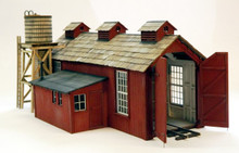 On30 Small Engine House. For Climax, Shay, Forney
