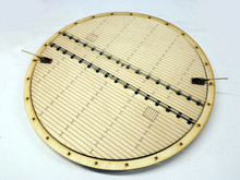 7mm/ft O scale deck turntable