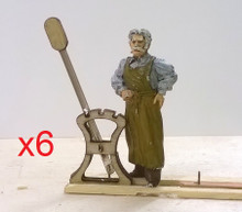1/48th scale harpstand