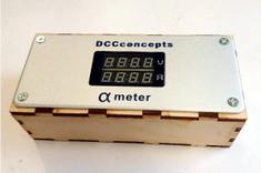 Laser cut box for DCC Concepts Alpha-Meter