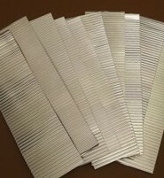 O scale corrugated iron - Industrial grade (10 strips)