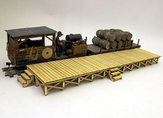 On30 Wooden Platform Kit - Kitwood Hill Models Store