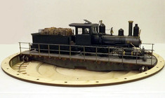 "On30 10.5"" turntable. Very useful for Small tender locos"