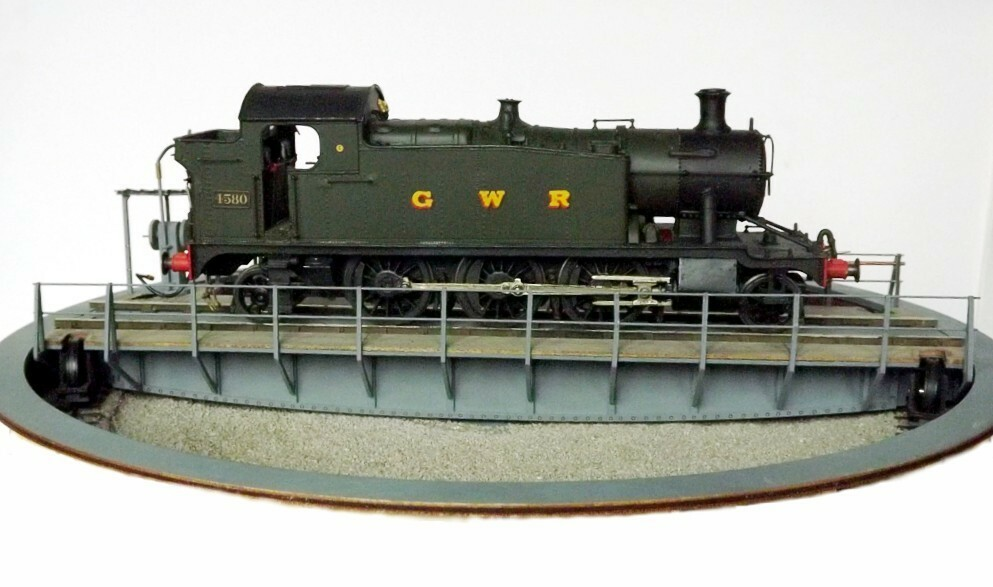 7mm scale 48ft turntable - Kitwood Hill Models Store