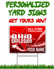 OCE Personalized Yard Sign