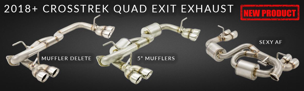 Subaru Crosstrek Quad Exit Exhaust