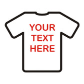 PRINT 'Your Text' Large with choice of font