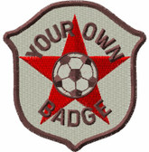 Club Badge Embroidered