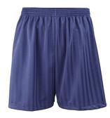 "Shadow Stripe PE Shorts - Navy 30-42"""
