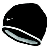 CLEARANCE - Nike Cat ID Reversible Beanie - Black/Anthracite/White