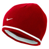 CLEARANCE - Nike Cat ID Reversible Beanie - Varsity Red/Sport Red/White