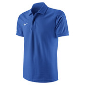CLEARANCE -  Nike Core Polo ADULTS - Royal Blue/White