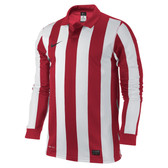 CLEARANCE -  Nike Inter Stripe III Game Jersey KIDS - Varsity Red/White