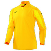 CLEARANCE -  Nike United Padded Goalie Jersey ADULTS - Varsity Maize