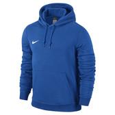 Nike Team Club Hoody - ADULT - Royal Blue/White