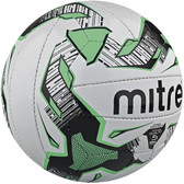 Mitre Maxima+ Training Football - White Size 5