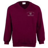Carisbrooke CE Primary V-Neck Sweatshirt