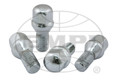 Chrome Lug Bolts - 14mm, 60°, Set of 4 For EMPI 4x130 wheels