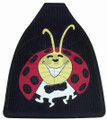 15-1097-0 LADY BUG FLOOR MATS, COLORED, FRONT (PR)