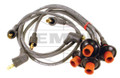 09-004   BOSCH IGNITION WIRE SET, TYPE 3 (EA)