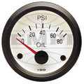 V3-5024-0  VDO OIL PSI GUAGE, WHITE