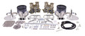 43-9317  EMPI WEBER Deluxe Dual 40 IDF Carb. Kit W/ BILLET ALUM AIR CLEANER ASSY.