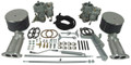 43-4400 EMPI Dual BROSOL Carb. Kit,  Type 1, Dual Port