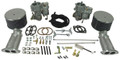 43-4416-0 EMPI Deluxe Dual 40mm Carb Kit w/EMPI Twist Linkage, Type 1