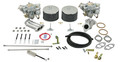 43-4417-0 EMPI Deluxe Dual 44mm Carb Kit w/EMPI Twist Linkage, Type 1