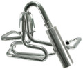 00-3750-0  OFF-ROAD COMPETITION EXHAUST SYSTEM, WITH S/S MUFFLER