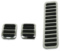 00-4551-0 PEDAL COVERS, BRAKE, CLUTCH & ACCEL. (3-PCS)