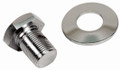 00-9118-0 CHROME PULLEY BOLT & WASHER, FOR BOLT-IN SAND SEAL PULLEYS